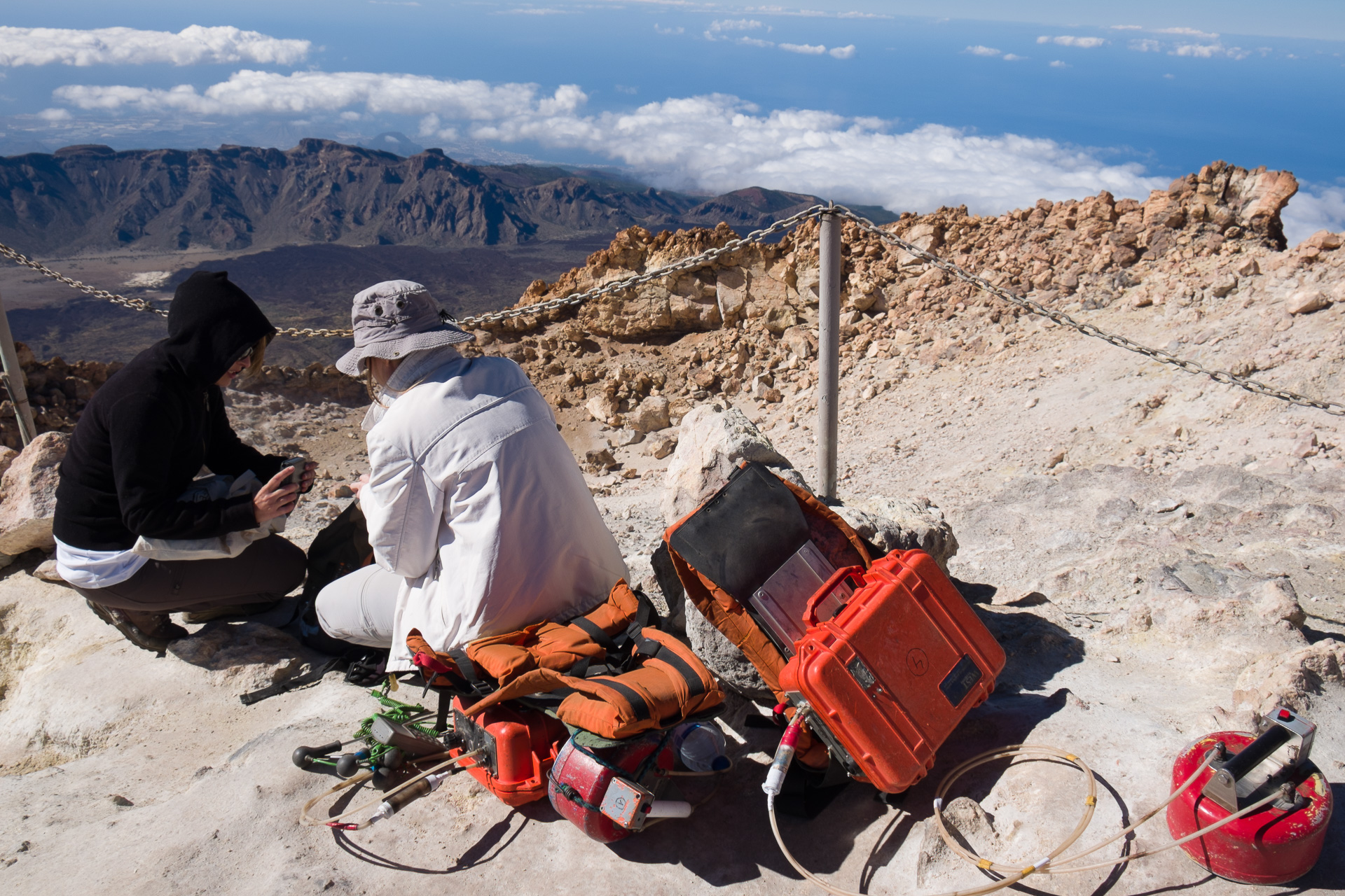 PROGRAMME G: VOLCANO MONITORING