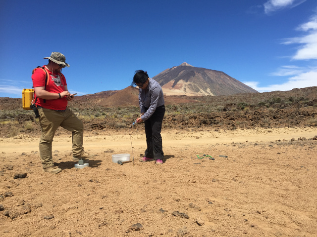 Diffuse CO2 degassing monitoring, Tenerife NWRZ volcano