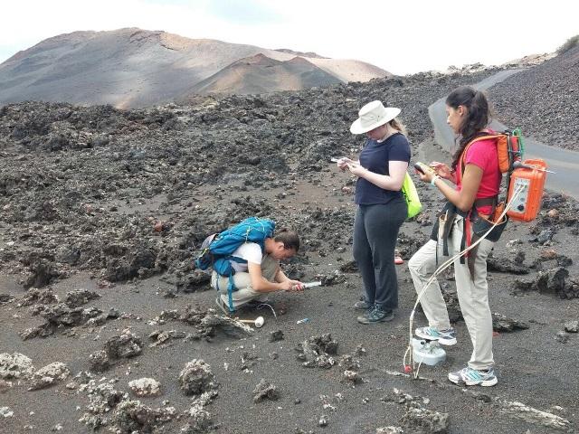 Diffuse CO2 degassing monitoring, Timanfaya volcano, Lanzarote