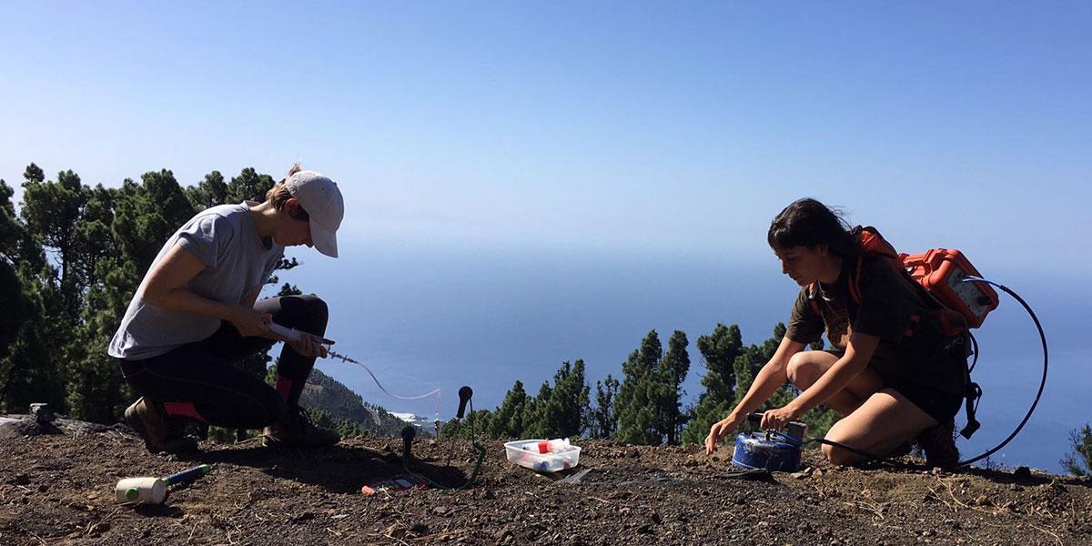 Diffuse degassing monitoring, Cumbre Vieja Volcano, La Palma